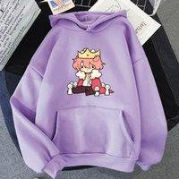 Men's Hoodies & Sweatshirts Kawaii Dream Smp Women Sweatshirt Sudadera Boys Girls Harajuku Graphic Unisex Pullovers Men Y2k Tops Purple Colo