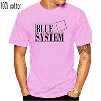 Camisetas para hombre Sistema azul GRUPO ALEMÁN MODERNABLE TALKING Designer blanco Camiseta 521 Tee homme hombres divertidos