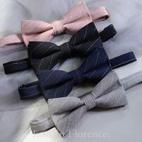 Diseño de marca MEZCLA COLORES CLÁSICOS HOMBRES CLÁSICO PIE LA CALIDAD Plaid Bowties Body Party Masculino corbatas