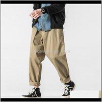 Весенний комбинезон Открытый Пешие прогулки Спортивные боевые взбирающиеся Брюки Сплошной цвет Простые свободные прямые повседневные брюки мужские GSPLR UXP0O