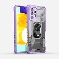 Applicable to Samsung Galaxy A82 mobile phone case, personalized creativity, all inclusive fall protection cover, two in one ring king