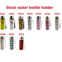 10 Colors Neoprene Drinkware Water Bottle Holder Insulated Sleeve Bag Case Pouch Cup Cover for 500ml CYZ3077