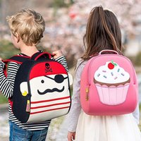 Borse scolastiche Walla Kindergarten Schoolbag American DABBAWALLA per bambini First e Second Grado Maschio Maschio di 3 anni Ragazzo Studente