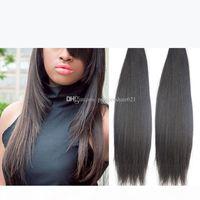 Гламурные бразильские волосы утомительные волосы высококачественные перуанские индийский малазийский виригин волосы 8-34 дюйма Дешевые бразильские прямые человеческие волосы шить в ткачестве