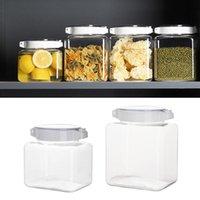 Garrafas de armazenamento JARS Caixa do tanque grande capacidade de selagem de silicone alto material de plástico para cozinha