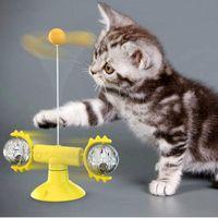 مضحك القط الدوار لعبة التفاعلية سوينغ الكرة صحية tpr abs لعب ألعاب القطط catnip ريشة عصا مستلزمات الحيوانات الأليفة اللعب