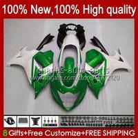 Bodywork pour Suzuki Katatana GSX-650F GSX650F GSXF650 2008 2009 2011 2011 12 13 14 Body 18HC.105 Green White GSX 650F GSXF 650 GSXF-650 08 09 10 11 2012 2014 Carénage OEM 2014