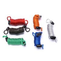 Security Reminder Bike Motorbike Tool Motorcycle Scooter Disc Lock Alarm Anti Thief Cable Bicycle Lock6colors Lights