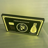 Night Club Birthday cake LED Wine Bottle Presenter Glorifier Display VIP Service Tray