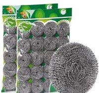 Spugne Sfoccamento Tappetini Pulizia Strumenti di pulizia Organizzazione di pulizia Giardino domestico Garden Consegna Drop 2021 Cucina Lavaggio in acciaio Pentola per la casa Departme