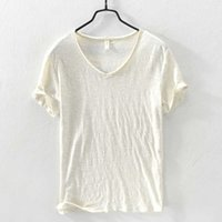 Women's T-Shirt 8 Cores Confortvel Com Decote Em v Camisas Dos T-shirt Da Marca De Vero Para Homens Moda Casual Mens Camiseta Tops Slidos t 7S5R