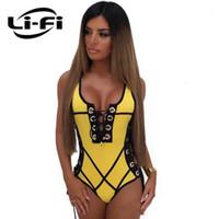 Li-Fi 2019 кружевной купальник женщины сексуальные купальники лоскутное MoMokini летние каникулы боди купальники купальный костюм Mainoot Beachwear1