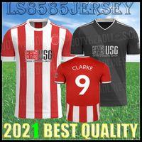 2021 2022 Шеффилд футбол для футболки Mousset United 212 22 Mcburnie Lundstram Fluk Третья футбольная футболка Norwood Sharp Men Kits Kit Jersey