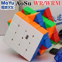 Magic Cube Puzzle Moyu Aosu Wr Wrm 4x4x4 4x4 Ímã Magnético Puzzle Cubo Profissional Velocidade Cubo Educacional Brinquedos Jogo