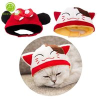 Dog Apparel Funny Animal Pet Cat Hat Cap Accessories High Quality Head Protection Decoration Puppy Chihuahua Yorkie Apparels 10E