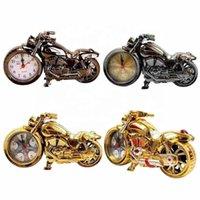 Старинные домашние часы мода персонализированные золотые ретро паровые мотоцикл мотоцикл мотоцикл мотоцикл мотоцикл столый будильник лучшие подарки