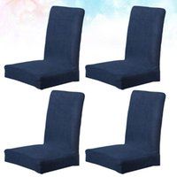 6pcs Chair Cover Elastic Stools Protector Seat Slipcover For...