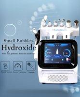 Multi-Functional H2O2 Aqua Oxygen Hydra RF Ultraonsic microdermabrasion Facial Deep Cleaning Skin Care Machine