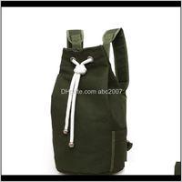 Outdoor-Taschen 20L-Leinwand DSRING Fitness-Gym Rucksack14-Zoll-Rucksack für radfahrenabhängige Unisex-Training Bagrunning-Radfahren-Rucksäcke 3H MPVUK