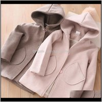 Cardigan Sweaters Baby, & Maternity Drop Delivery 2021 Winter Jackets Hooded Hair Ball Baby Clothes 3 4 5 6 7 Years Toddler Kids Outerwear Fa