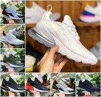 270 الثلاثي أسود أبيض الرجال الاحذية 270s يكون صحيح المرأة جامعة حذاء رياضة حذاء أحمر بلاتين تينت المرأة النمر الزيتون الأزرق الفراغ الهواء المدربين الرياضة المصممين