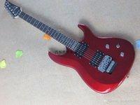 !! Nueva llegada + alta calidad + Joe Satrian Red JS Series JS20S Floyd Rose Guitarra eléctrica en stock @ 9