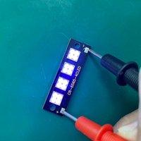 その他の照明電球管25W 275NMディープUVC LEDダイオード6565ランプSMDビーズ48V 4チップのための紫外線消毒装置285nmステリリザフラッシュ