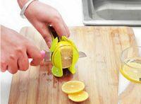 Herramientas de frutas Tomate de limón multifuncional Tomate cortadora de abrazadera Cebolla de mano Frutas de helicóptero Clips de alimentos Cocina DHD6712