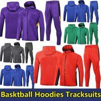 Nba Vor Übereinstimmung 2021 nba Hoodies Trainingsanzüge Jacke Lakers James Bulls Warriors Rocket 76ers Bucks Celtics Cavaliers Jazz Hornets Raptors Wintermantel für den Sport