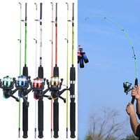 Sougayilang 4 Color 120cm Spining Combo 2 Section EVA Handle Ultralight Resin Body Rod and 3BB Reel Fishing Set