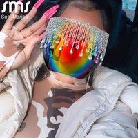 Faceshield Women Men Diamond Goggles Safety Glasses Anti-Spray Mask Protective Goggle Glass Sunglasses