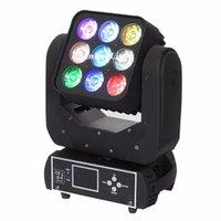 Effecten 16lot Equipement Quad RGBW LED Matrix Light 9x12 Beam Moving Head Lyre DMX DOT PIXEL DJ