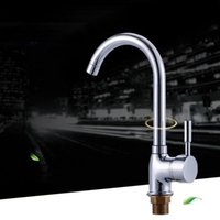 Kitchen Faucets Brass Sink Faucet With Single Handle Water By Polished Chrome Mixer Tap
