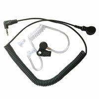FBI estilo Acoustic capa tubo Ouça apenas fone de ouvido para Motorola RLN4941 PMMN4059 PMMN4069 Speaker 3.5mm Plug Jack Radio Walkie Talkie Acessórios