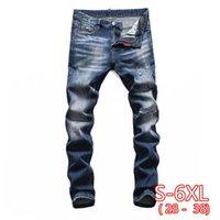 Erkek Kot 2021 Yaz Denim Pantolon Ince Düz Koyu Mavi Düzenli Fit Eğlence Uzun Pantolon Erkekler