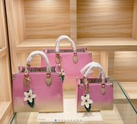 Frauen Luxurys Designer Handtaschen M45320 Damen Tote Einkaufstaschen Großhandel Handtasche Mode Onthego Classic Brief Geldbörse 36 41 cm unterwegs