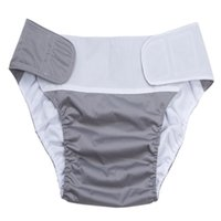 Cloth Diaper Adjustable Wash Diapers Adults Reusable Covers Elderly Waterproof Napkin Nappy Diaper Briefs Shorts Panties Pants B2813 114 Y2