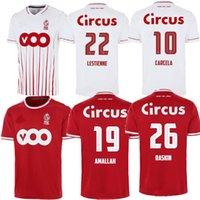 21 22 Standard Liège Soccer Jerseys Edition spéciale 100 ans Home LaStienne AmlaLah 2021 2022 R.Standard de Liège Vanheusden Laidifis Raskin Carcela Chemises de football