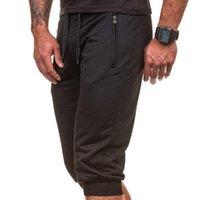 Swokii мужские шорты сплошные цвета длина колена Drawstring повседневная фитнес дышащие брюки летом do99 человек