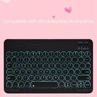 Klavyeler -keyboard 10 inç AllDocube Iplay20 için 10 inç Teclast P20HD Tablet Backlight Win Mac Android ile Kablosuz Klavye