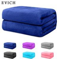 Evich Premium Мягкие брошенные одеяла нечеткое постельное белье Sherpa Уютный и теплый мех для женщин