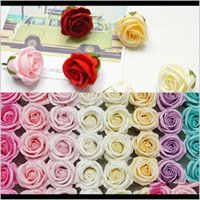 Decorative Flowers Wreaths Festive Party Supplies Home & Gardenvalentines Four-Tier Rose Soap Valentines Day Gifts Wedding Decoration Flower