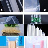 Fabrik 11 Seide PE Selbstversiegelung 10 * 12 cm Transparent Verdickte Baumwolle Tupfer Lebensmittel Umweltschutz Versiegelt Plast Odne