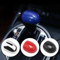 Carbon fiber Car Shift Knob Gear Head Cover Case For Kia Sportage 3 Cerato K3 Forte Sorento 2011 2012 2013 2014 2015