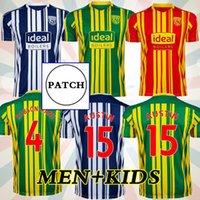 20 21 West Albion Soccer Jerseys 2020 2021 Bromwich Football Shirt Kits Camiseta Men Robson Kanu Townsend Tops Equipment
