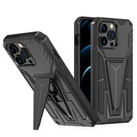 Kickstand Phone Cases For Samsung S21 S20 Plus Ultra FE F52 A82 A72 A52 Iphone 13 Pro Max PC TPU Magnetic Car Support Cellphone Case New Design Back Cover