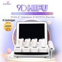 2021 휴대용 9D HIFU 기계 주름 제거 초점 초음파 얼굴 리프팅 장비 지방 감소 바디 슬리밍 장치 CE 승인
