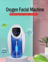 O2Toderm Corea Máquina de máscara facial de oxígeno Peel Peel Face Therapy Derma Anion Generato Jett Beauty Equipment