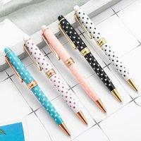 Penne in metallo Penne Creative Balls Point Pen Pen Penna Articoli Cancelleria e forniture scolastiche