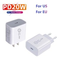 20W PD USB Wall Chargers Power Delivery Quick Charger Adapter TYPE C Plug Fast Charging TOP quality